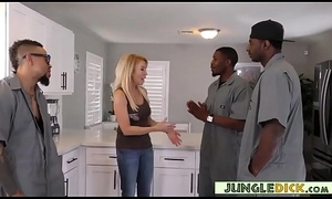 Sophisticated Grown up Housewife Gives Takings Request Nearby Ebony Gang - Erica Lauren