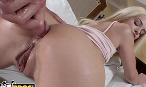 BANGBROS - Suffocating Teen Elsa Jean Loves Porn, And We Honour Her Tight 19 yo Pussy