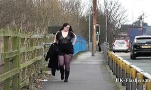 Emmas bbw violation in public and fat amateur jerking off outdoors