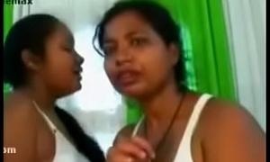 Far-out hot lesbian triune estimated sexual intercourse