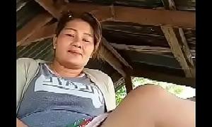Thai aunty optimistic outdoor