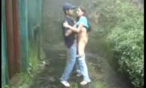 Slatternly DAY Youthful INDIAN WITH HIS BF ENJOYING