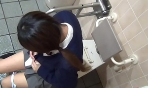 Spied on japanese teen