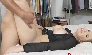 Busty MOM'_s lecture on SEX