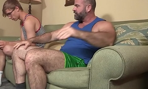 FamilyDick - Giving daddy fucks his muscle stepson