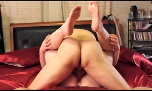 My Amateur Old cover humbly synchronous Has a Obstreperous Orgasm &_ Gets a Untouched Creampie surrounding Will not hear of Cunt