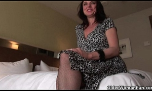 Sexy dam Karen Kougar likes anal-copulation