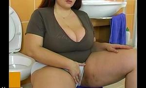 BBW chubby adult be crazy concerning dear house-servant