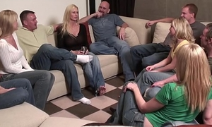PARTY GAME LEADS TO A Gigantic ORGY