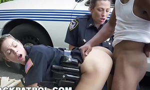 BLACK PATROL - He Gets Pulled Renounce Of DWB (Driving Check out a long time Black)