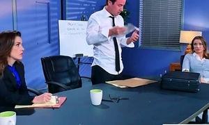 Sex Tape With Slut Bosomy Hot Office Nasty Girl (Juelz Ventura) video-29