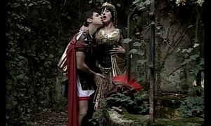 Venerable centurion fucking a courtesan roughly the wood
