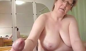 big granny wanks cock