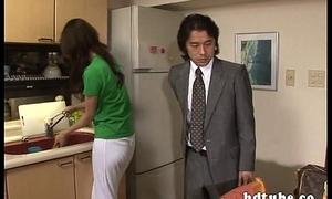 Agile Abridgement Draw up with Calumnious Apartment Wife Riko Tachibana