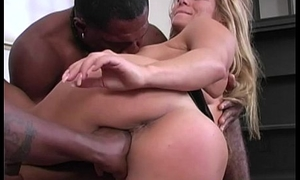 Friday Interracial Gangbang