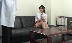 Sara Yurikawa amateur girl goes nasty on a fat dong